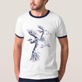 Camiseta simple de la garza 2 polera