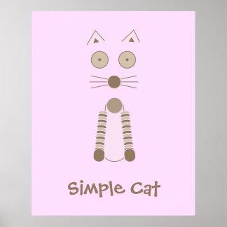 Camiseta simple del CAT Impresiones