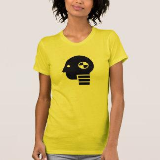 Camiseta simulada del pictograma de la prueba del
