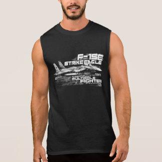 Camiseta sin mangas de Eagle de la huelga de F-15E