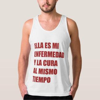 Camiseta sin mangas de Jersey para hombre