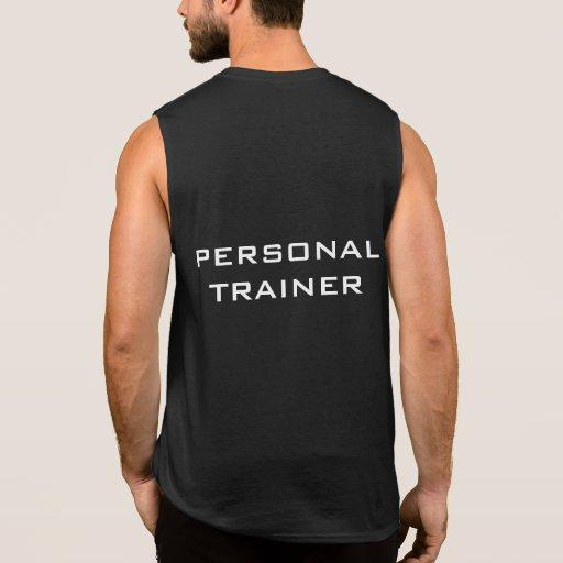 Camiseta sin mangas de la aptitud personal del ins