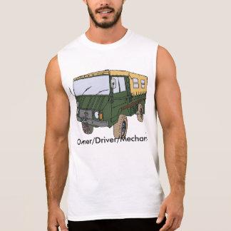 Camiseta sin mangas del camión de Pinzgauer
