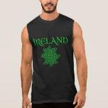 Camiseta sin mangas del nudo céltico de Irlanda de