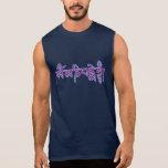 Camiseta sin mangas del ronquido de OM Mani Padme