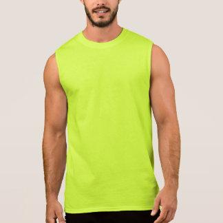Camiseta sin mangas S.G. del algodón de los hombre
