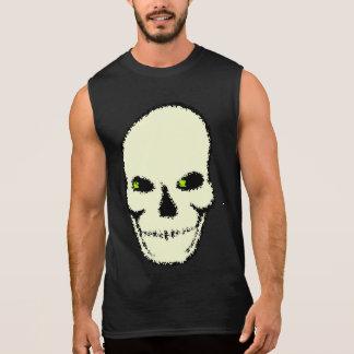 Camiseta Skull ojos verdes Sleeveless Shirt
