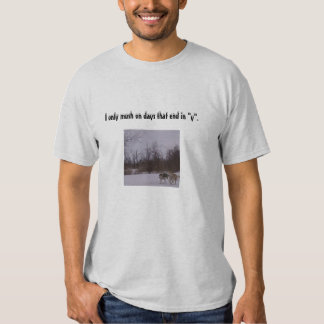 Camiseta Sledding del perro Camisas