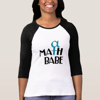 Camiseta snarky de Mathbabe Playeras