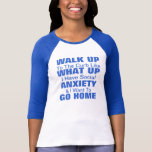 ¡Camiseta social de la ansiedad! ¡Personalizar!