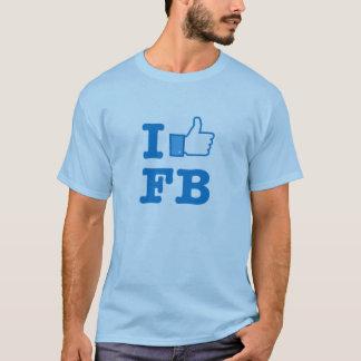 Camiseta social de los medios