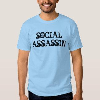 Camiseta social del asesino polera