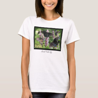 Camiseta social del ~ de la mariposa