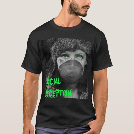 Camiseta social del engaño