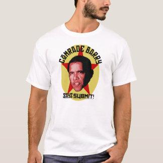 Camiseta socialista de camarada Barack Obama