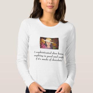 Camiseta sofisticada de la diva poleras