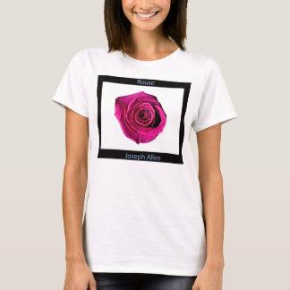 "Camiseta sola color de rosa ""Rouse"" por José Allen"