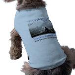 Camiseta sola del perrito del corazón playera sin mangas para perro