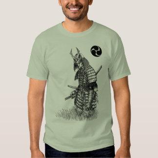 Camiseta solitaria del samurai remera