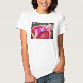 """Camiseta """"soñadora"""" cremosa de la foto playeras"""