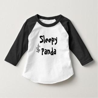 Camiseta soñolienta de la panda playeras