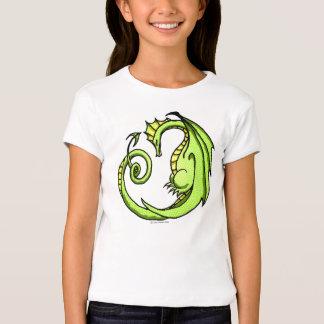 Camiseta soñolienta del dragón del dibujo animado playeras