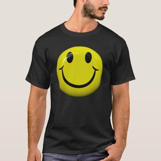 Camiseta sonriente de la cara