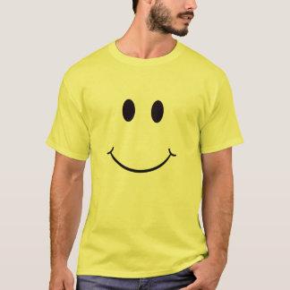 Camiseta sonriente de la cara - personalizar -