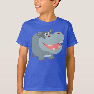 Camiseta sonriente linda de los niños del playera