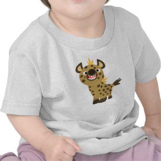 Camiseta sonriente linda del bebé del Hyena del di