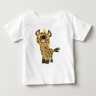 Camiseta sonriente linda del bebé del Hyena del Playera Para Bebé