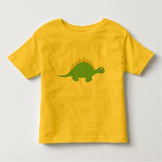 Camiseta sonriente linda del niño del dinosaurio