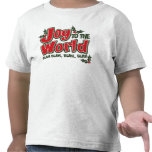 Camiseta sosa sosa del niño del mundo de la alegrí
