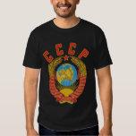 Camiseta soviética del escudo de armas CCCP Playeras