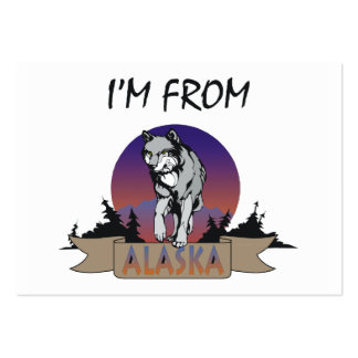 CAMISETA soy de Alaska Tarjeta De Visita