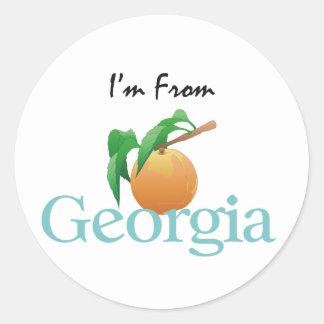 CAMISETA soy de Georgia Etiquetas