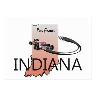 CAMISETA soy de Indiana Tarjeta De Visita