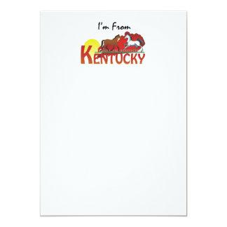 CAMISETA soy de Kentucky Invitación 12,7 X 17,8 Cm