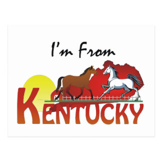 CAMISETA soy de Kentucky Postales