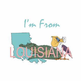 CAMISETA soy de Luisiana Fotoescultura Vertical