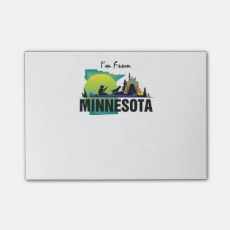 CAMISETA soy de Minnesota Post-it Notas