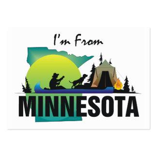 CAMISETA soy de Minnesota Plantilla De Tarjeta Personal