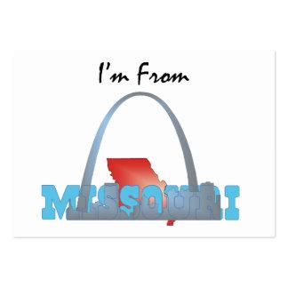 CAMISETA soy de Missouri Plantillas De Tarjetas De Visita