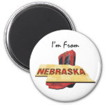 CAMISETA soy de Nebraska Imán