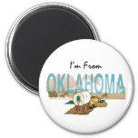CAMISETA soy de Oklahoma Imán De Frigorífico