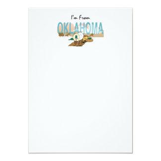 CAMISETA soy de Oklahoma Invitación 12,7 X 17,8 Cm