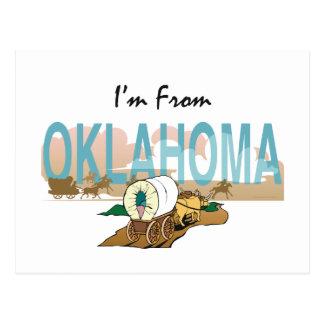 CAMISETA soy de Oklahoma Tarjetas Postales