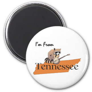 CAMISETA soy de Tennessee Imán Redondo 5 Cm