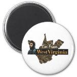CAMISETA soy de Virginia Occidental Iman De Frigorífico