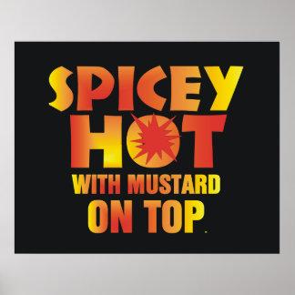 CAMISETA Spicey caliente Impresiones